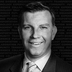 Headshot: Mark Compton, CEO, Pennsylvania (PA) Turnpike Commission (PTC)