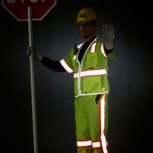 Alight in the Night: Retroreflective Gear for Night Work