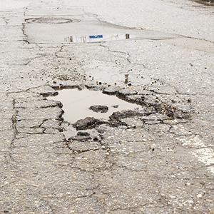 Pothole Repair: It's the Pits