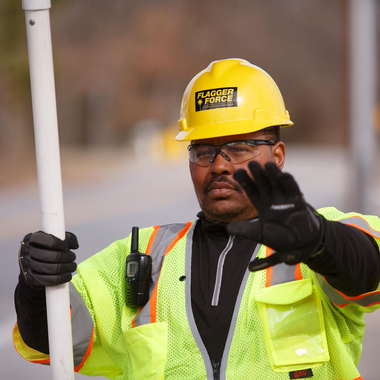 Safety First: Communication in Traffic Work Zones