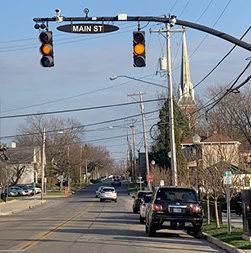 Main St, Marysville, OH—Yellow-light